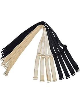 Correas de repuesto para sujetador, 12mm/15mm/18mm de ancho, elástico ajustable extraíble, multicolor