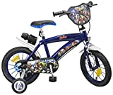 Toimsa 000864 Avengers - Bicicletta per bambino 35.6 cm (14'), Multicolore