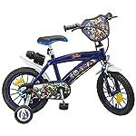 Toims Spiderman Bicicletta per bambino