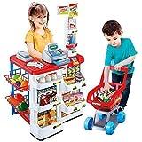 Tabu Toys World Supermarket Playset Shopping Cart