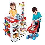 Tabu Toys World Supermarket Playset Shopping Cart