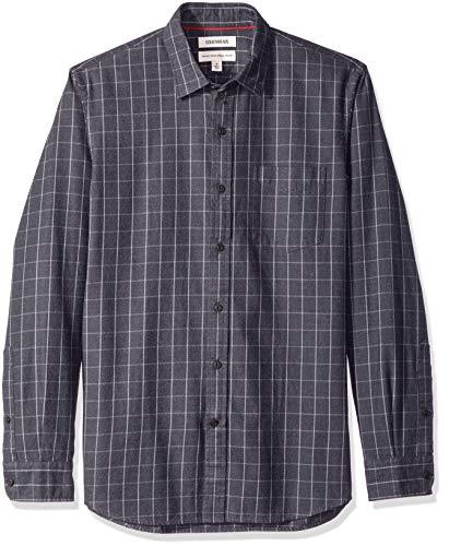 Goodthreads Standard-Fit Long-Sleeve Brushed Flannel