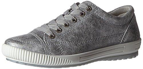 Legero 82000, Baskets mode femme Silber (cristal Kombi)