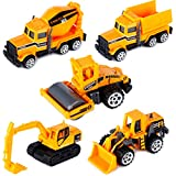 Mini Modelli di Camion Auto Set con elementi pressofusi Scala 1:72 (5 Pcs)