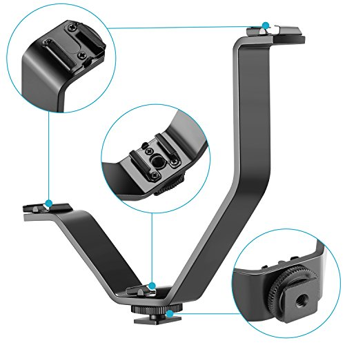 Gadget Place Desktop Camera Stand with Thumb Screw for Canon EOS 5D Mark IV EOS 6D Mark II 9000D 8000D 800D 750D 200D 77D Rebel SL2 T6i T7i Kiss X9 X9i X8i