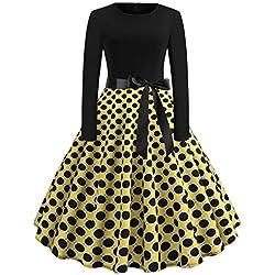 a2f49baf09a5 Donna Sottile Vestito con Aberturas Abito Maxi di Pizzo Senza Schienale  Vestiti da Cerimonia Abito da