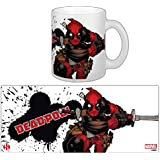Marvel Comics Taza Deadpool Slashing SeDi Cups Mugs