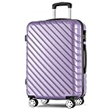 Merax Carry On Super Lightweight ABS Hard Shell Travel Trolley Travel Hold Check