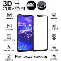 Cooljun Huawei Mate 20 Lite,Protecteur d'écran Full 3D en Verre trempé 9H