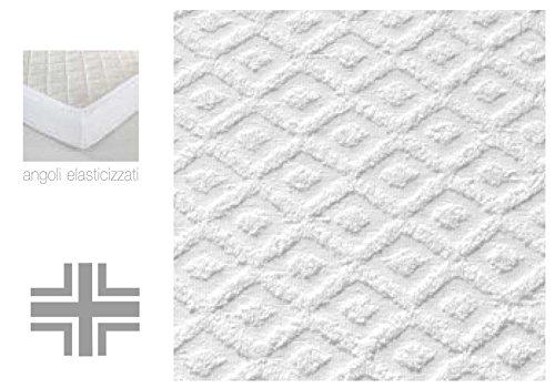 Coprimaterasso-Sanity-spugna-jacquard-con-angoli-matrimoniale-cm-180x20025
