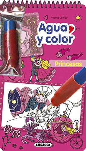 Princesas (Agua y color) por Susaeta Ediciones S A