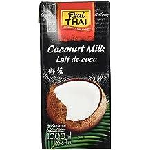 Real Thai Kokosnussmilch Tetra Pak, 2er Pack (2 x 1 l)