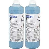ELASTOFIT Professionell Reifendichtmittel 2x 1000 ml Flasche Ventilausdreher Handschuhe