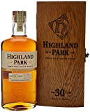 Highland Park 30 Year Old Malt Scotch Whisky in a Wooden Box 70 cl