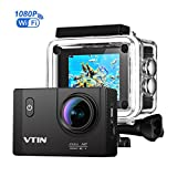 VTIN Action Kamera WIFI 2,0 Zoll, VTIN Full HD 1080P Sport Action Camera...