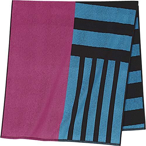 adidas Damen Beach Towel, Black/Real Magenta, NS