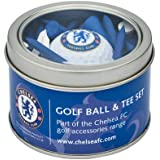 Chelsea Fc Golf Ball and Tee Gift Set