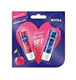 #3: Nivea Lip Care, Cherry, 4.8g with Lip Care Essential, 4.8g