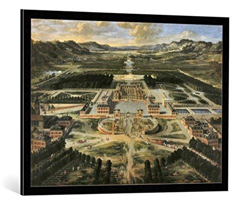 kunst für alle Bild mit Bilder-Rahmen: Pierre Patel Vue du château de Versailles en 1668