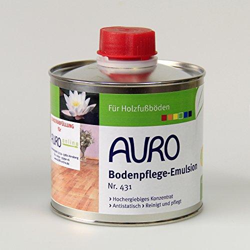 Auro Bodenpflege-Emulsion Nr. 431 - 0,5 Liter