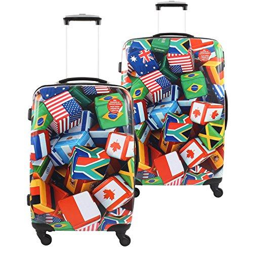 Fabrizio Luggage Set, colorée (Mehrfarbig) - 2054079