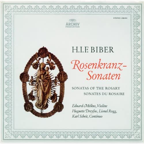 Biber: The Mystery Sonatas I-XV; Passacaglia in G Minor (2 CDs)