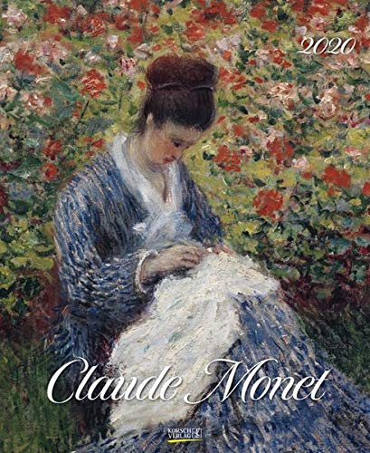 Claude Monet 2020: Kunstkalender mit Werken des Künstlers Claude Monet, Impressionismus. Wandkalender im Format: 36 x 44 cm, Foliendeckblatt