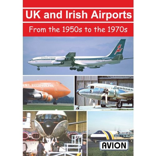 Price comparison product image Avion UK and Irish Airports in the 1950's To The 1970's DVD