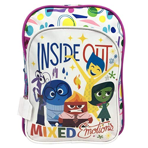 Mochila de Disney Inside Out con caracteres impresos, bolsa escolar para niños – 50 1