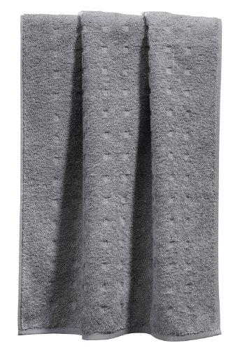 Möve Duschtuch grau Größe 67x140 cm