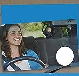 Espejo Retrovisor Bebé Coche, Viflykoo Retrovisor para Sillitas de Bebé Car Interior Back Seat Safety Mirror pour Baby