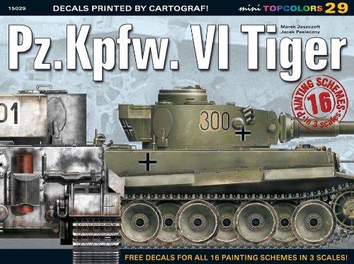 Pz.Kpfw. vi Tiger (Mini Topcolors)