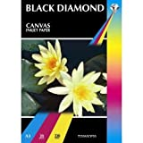 Black Diamond 50 Sheets A3 Canvas Inkjet Paper 220gsm