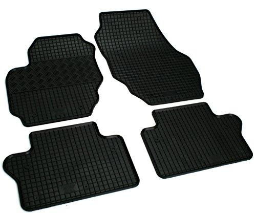 AD Tuning GmbH & Co. KG Pieds en caoutchouc tapis Set, 4teilig, pieds en caoutchouc Tapis Tapis en caoutchouc