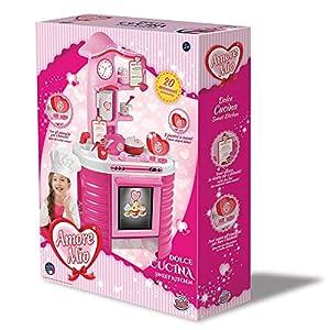 Grandi Giochi - GG71297, Nueva Cocina Amore Mio, Color Rosa
