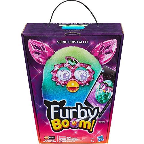 Furby A9616IC0 - Furby Boom Crystal, da Verde a Blu