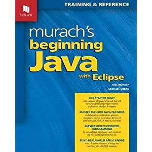 51xBkSTVG1L. SS300  - Murach's Beginning Java with Eclipse