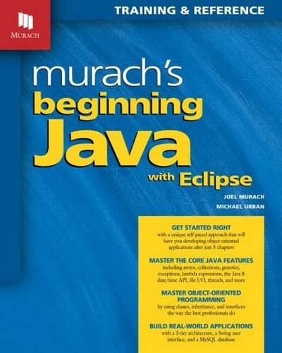 Murach's Beginning Java with Eclipse