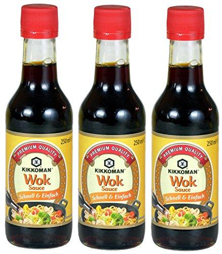 Kikkoman - Wok Sauce 3er Pack (3 x 250ml)