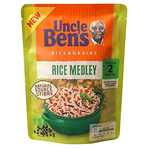 Uncle Bens Express Rice And Grains Medley 220G