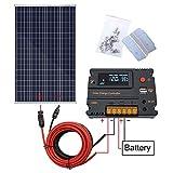 ECO-WORTHY Kit pannello solare 120W 200W per camper e camper Caravan Camper (120W Kit pannello...