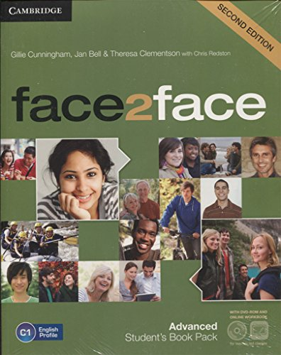 face2face for Spanish Speakers Advanced Student's Pack (Student's Book with DVD-ROM, Spanish Speakers Handbook with CD, Online Workbook Second Edition