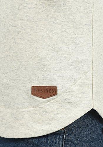 DESIRES Wandy - Felpa con Cappuccio da donna Oyster Grey (8215)