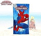 Spiderman 2454140031 - mv15066 Toalla Infantil Playa Motivo de (70 x 140 cm \/ 100% Algodon)