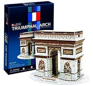 Ak Sport - 0625607 - Puzzle 3d - Arc De Triomphe - 26 Pièces