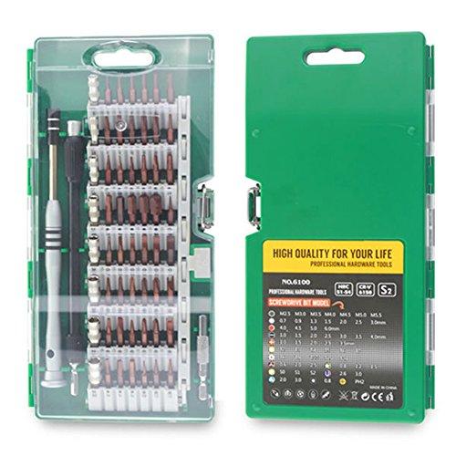 60-in-1Präzisions-Schraubendreher-Bit-Set, Reparatur-toolsscrew-Set, Zubehör, DIY-Werkzeug-Set/Mini-Set (Reparatur Haushaltsgeräte)