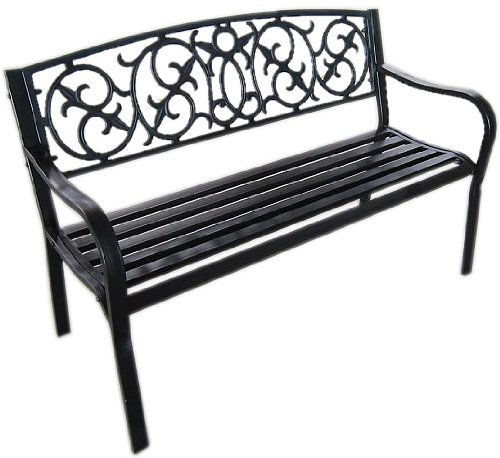 black-metal-garden-bench-seat-outdoor-seating-with-decorative-cast-iron-backrest