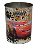 Papierkorb Disney Cars - Metall - Mülleimer Eimer Aufbewahrungsbox für Kinder Auto Lightning Queen Junge