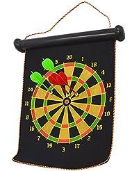 BEETEST Portable colgante magnético doble cara Dart tiro Junta tiro juego juguete Set para Bar Pub Casa fiesta con Dardo 4