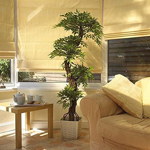 Luxury Artificial Japanese Fruticosa Tree, Stylish Replica Indoor Plant - 165cm Tall